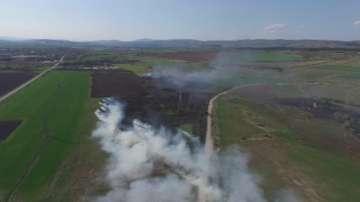 Пожар горя край Костинброд