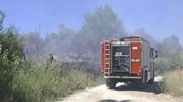 Пожар в района на монтанското село Славотин