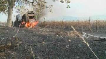 Щети за милиони левове след огромния пожар в Сопот