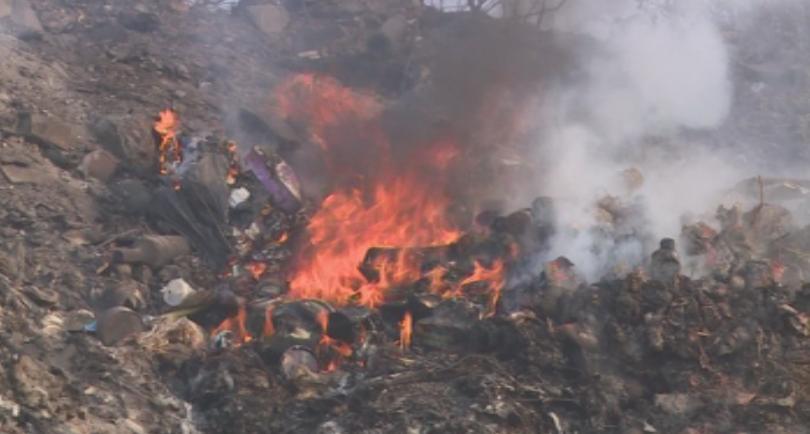 1000 декара широколистна гора, треви и храсти изгоряха при пожара,