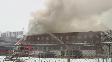 Пожар изпепели жилищна сграда в Минеaполис