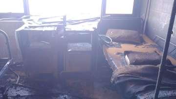 Пожар в Университетската болница в Пловдив