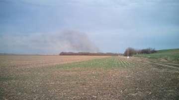 Пожар бушува до защитена местност Калимок – Бръшлен