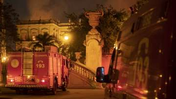 Пожар унищожи Националния музей на Бразилия