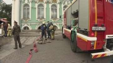 Пожар в Ермитажа в Санкт Петербург отне живота на четири котета