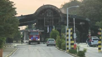Пожар на ГКПП Златарево, пунктът е затворен за 24 часа