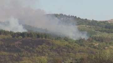 Полицията разследва причините, довели до пожара край с. Изворище