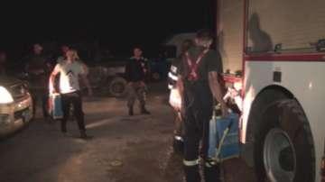 Голям пожар избухна до Карлово, налага се военни да се включат в гасенето
