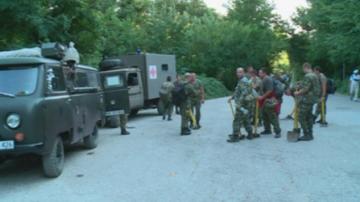 Дежурни екипи наблюдаваха през нощта района около пожара край Карлово