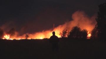 Овладян е пожарът край жп линията Баня - Карлово