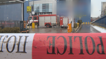Пожар горя в столичен мол, най-вероятно е причинен от късо съединение