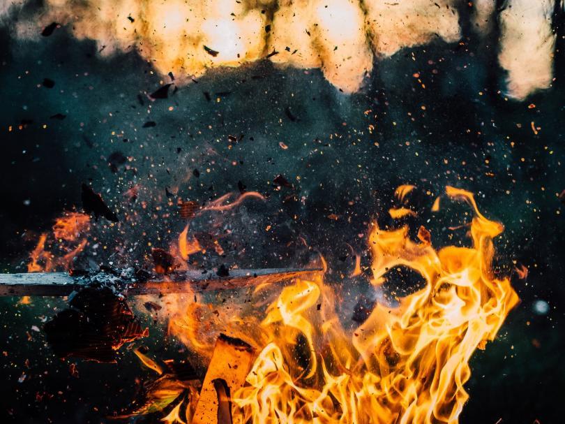 Горски пожари обхванаха гръцкия остров Евбея