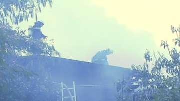 Жена и две деца бяха спасени при пожар в къща в Пловдив