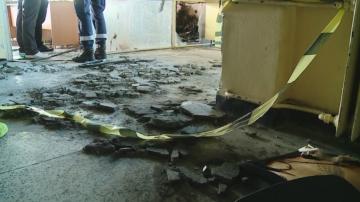 Пожар горя в болница в Пловдив