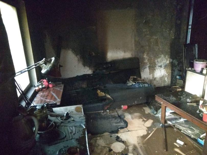 Снимка: Пожар в къща в Пловдив