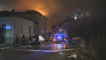 Локализиран е пожарът в сградата на Психодиспансера в София