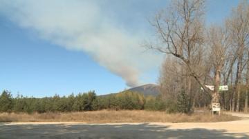 Голям пожар гори в Рила планина