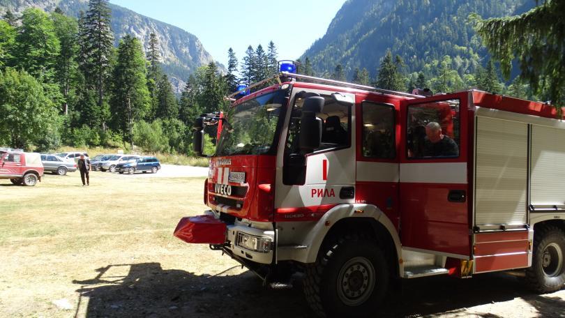 Локализиран е пожарът, който вчера пламна в района на Сухото