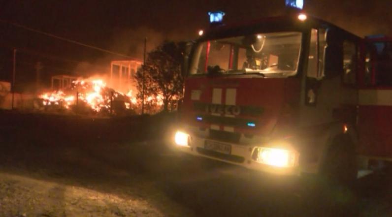 Локализирани са пожарите, избухнали късно снощи в района на ТЕЦ