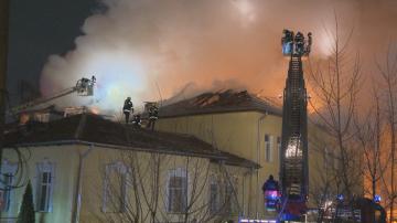 Потушен е пожарът на Сточна гара в столицата