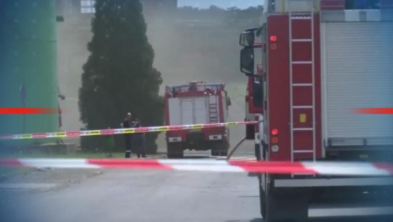 """Овладян е пожарът в """"ТЕЦ Марица изток 2"""", при който"""