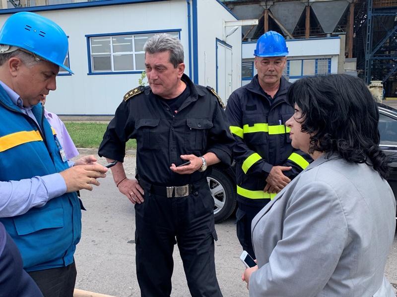 """Пожарът, който възникна тази сутрин в ТЕЦ """"Марица-Изток 2"""", няма"""