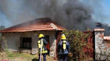 Над 240 пожара са горели в Благоевградско от началото на лятото