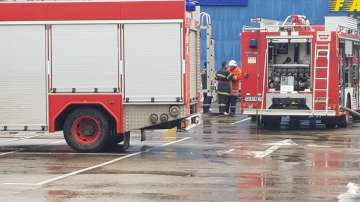 Пожар в мол в столичния квартал Гео Милев, няма пострадали хора
