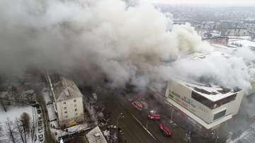 Расте броят на жертвите от пожара в Сибир