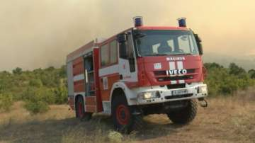 Пожар избухна край Сопот