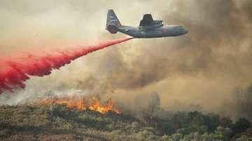Американската армия се включва  в гасенето на пожарите в Калифорния