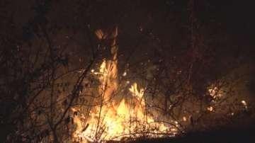 Остава бедственото положение в Харманли заради горски пожар