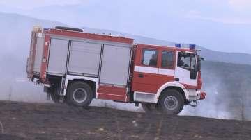 Пожар в завода за отпадъци в Шишманци