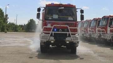 Задимен e участък от АМ Тракия заради пожара в завода за отпадъци в Шишманци