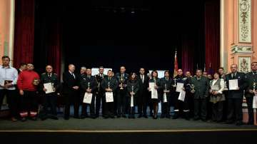 Пожарникарите от Хитрино получиха специално отличие