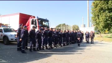 Техника и спасители от България се включват в мащабно учение в Румъния
