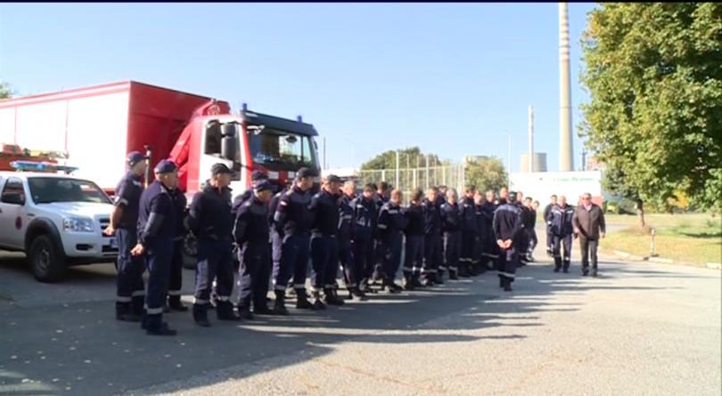 Български спасителни екипи се включиха в практическо учение за действие