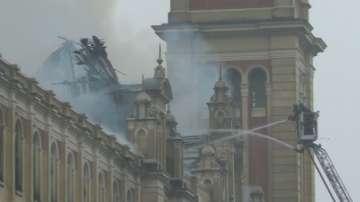 Пожар унищожи Музея на португалския език в Сао Пауло
