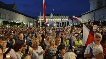 Отново протести в Полша заради спорната съдебна реформа