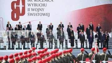 В Полша отбелязаха 80-ата годишнина от началото на Втората световна война