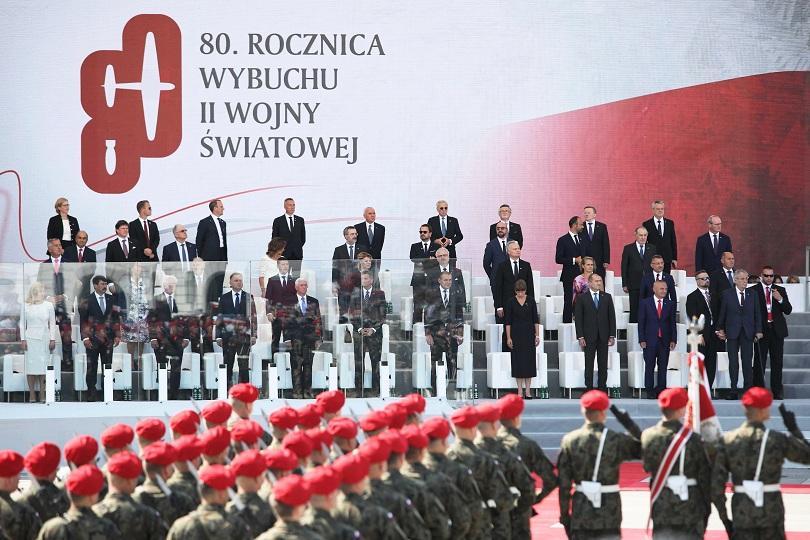 В Полша световни лидери от 40 страни отбелязаха 80-тата годишнина