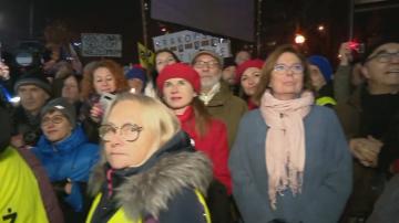 Антиправителствени протести в Полша