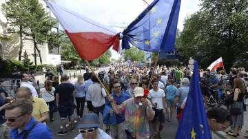 Пореден ден на антиправителствени протести в Полша