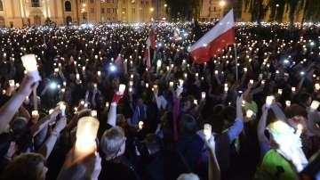 Протести срещу съдебните реформи в Полша