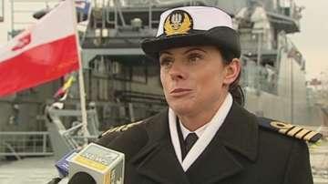 Първата жена капитан на кораб в полските ВМС