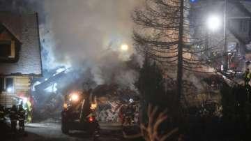 8 души, сред които и деца, загинаха при газова експлозия в Полша
