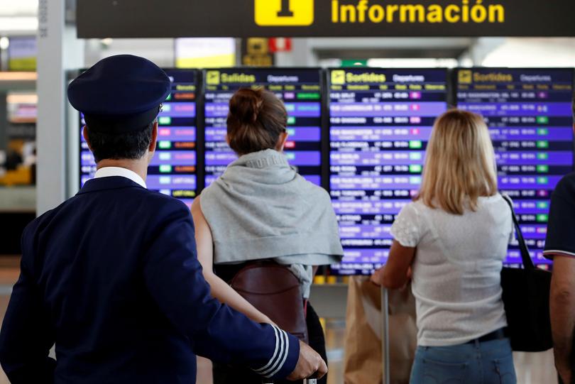 Отменени са 50 полета в Каталуния