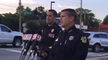 Мъж простреля полицай и взе деца за заложници в Орландо