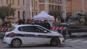 Засилени мерки за сигурност в Рим за предстоящите празници