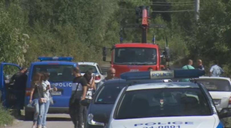 снимка 1  Столичната полиция работи по версия за отвличане по случая в Герман